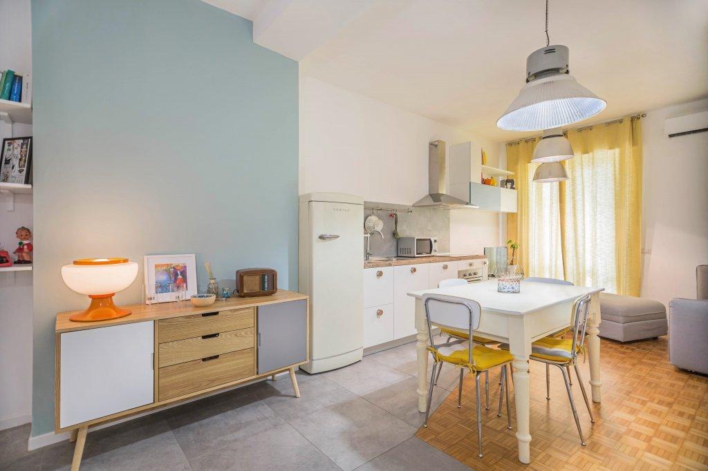 pittura traspirante per cucina e open space soggiorno
