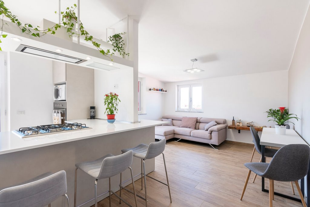 Ristrutturazione appartamento 95mq a Napoli, zona San Sebastiano al Vesuvio. Alfonso vitolo