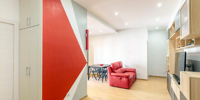 Fabio Silvestri Ristrutturazione appartamento di 60mq a Roma