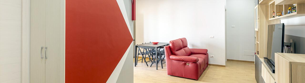 Ristrutturazione appartamento di 60mq a Roma, zona Casal Bertone