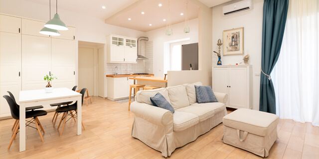 Ristrutturazione appartamento di 65 mq a Pozzuoli