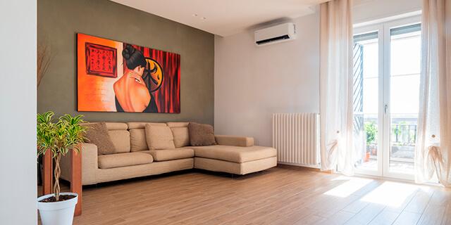 Ristrutturazione appartamento a Bari salotto