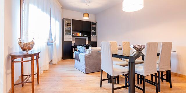 open space Ristrutturazione appartamento Pistoia