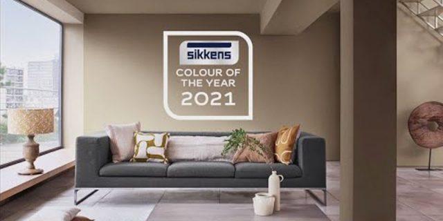 Brave Ground: il colore del 2021 secondo Sikkens