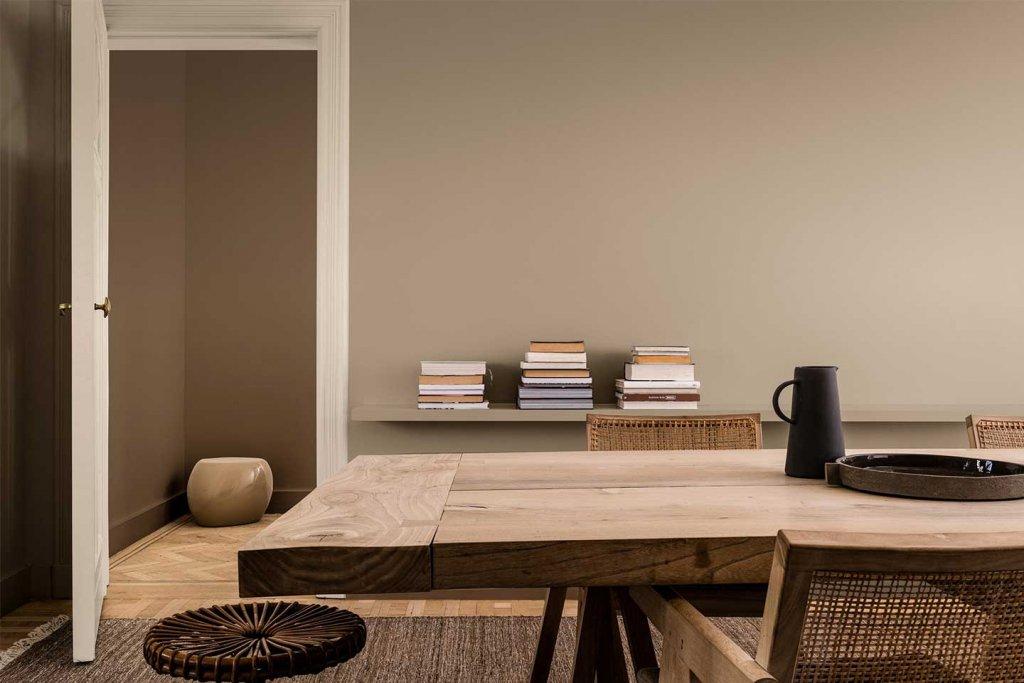 tavolo marrome sikkens