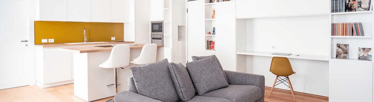 Open Space: spunti e soluzioni per dividere gli spazi di soggiorno e cucina